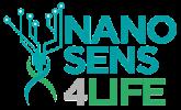 Nanosens4life - Nanobiosensori su matrice polimerica funzionalizzata: dispositivi smart per il monitoraggio in line dei trattamenti extracorporei, respirazione assistita e ossigenoterapia - Progetto POR-FESR 2014-2020 Logo